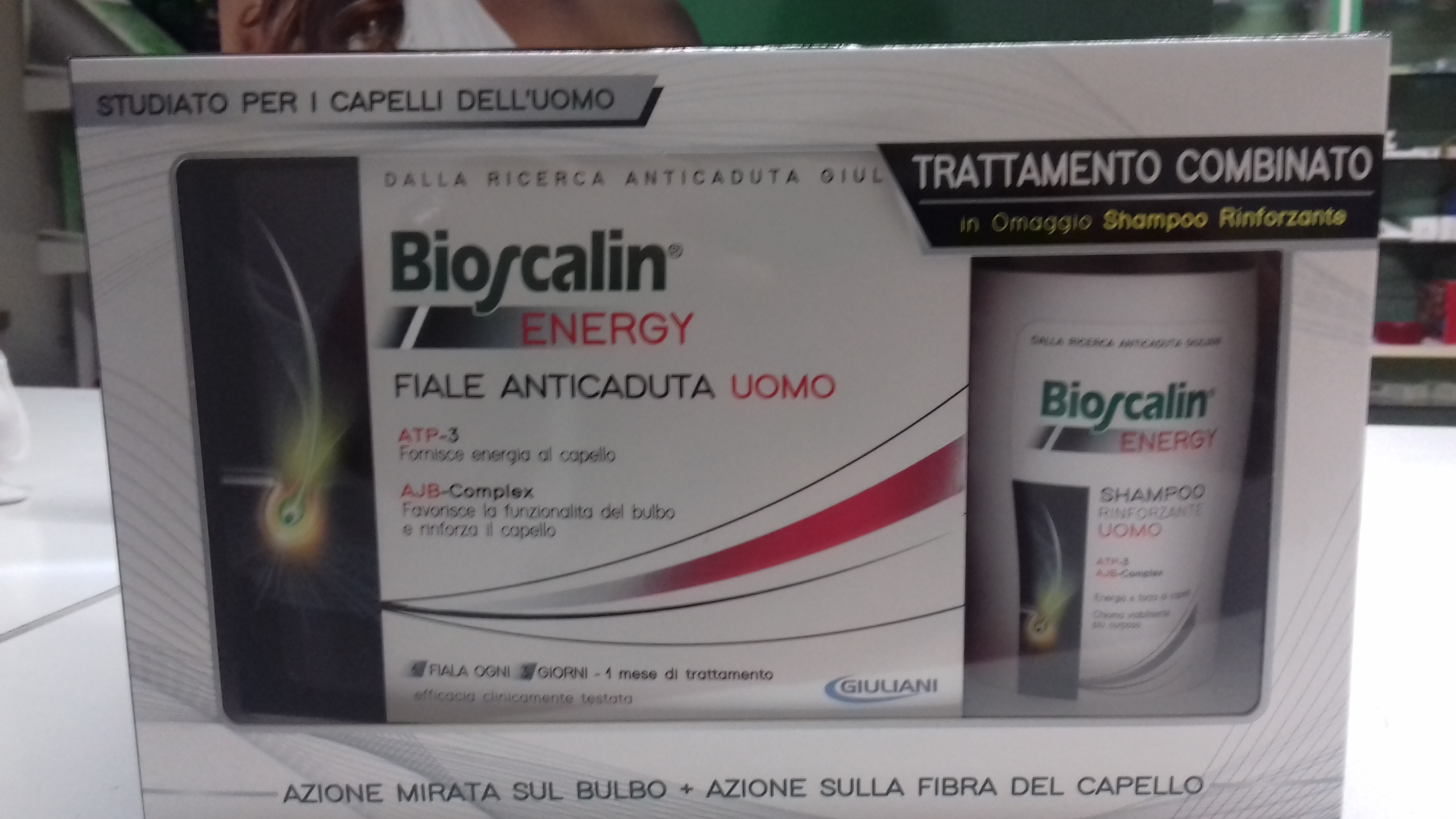 Bioscalin con Physiogenina 30 compresse+SHAMPOO OMAGGIO 100 ML