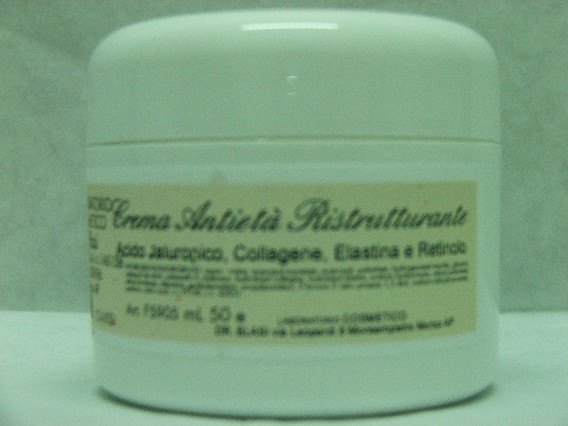Crema Antietà' Collagene, Elastina, Retinolo, Acido Jaluronico