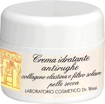 Crema antirughe collagene, elastina e filtro UV