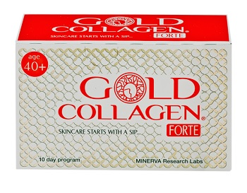 MINERVA GOLD COLLAGEN FORTE 10 FLACONI