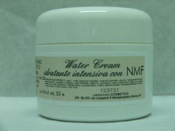 Water Cream Crema idratante intensiva con nmf